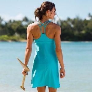 Athleta • Turquoise Blue Coastline Swim Dress